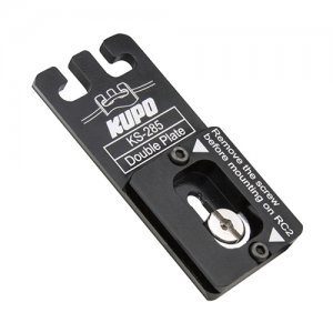 KUPO KS-285 Double Camera Plate